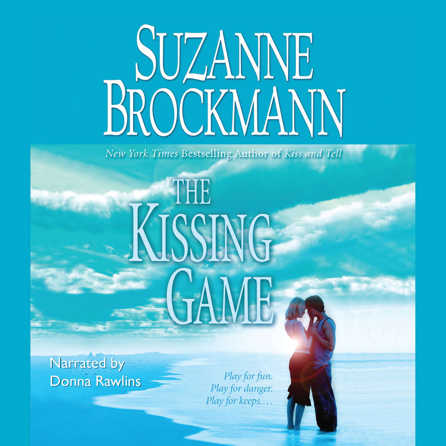 Printable The Kissing Game Audiobook Cover Art