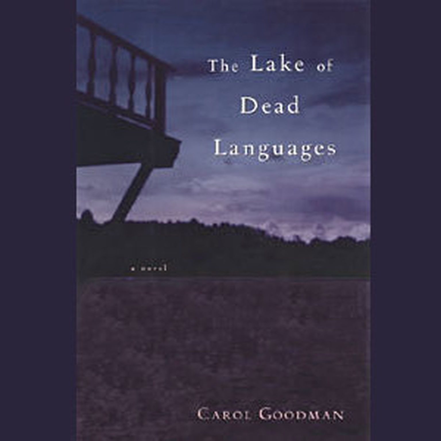Printable The Lake of Dead Languages Audiobook Cover Art