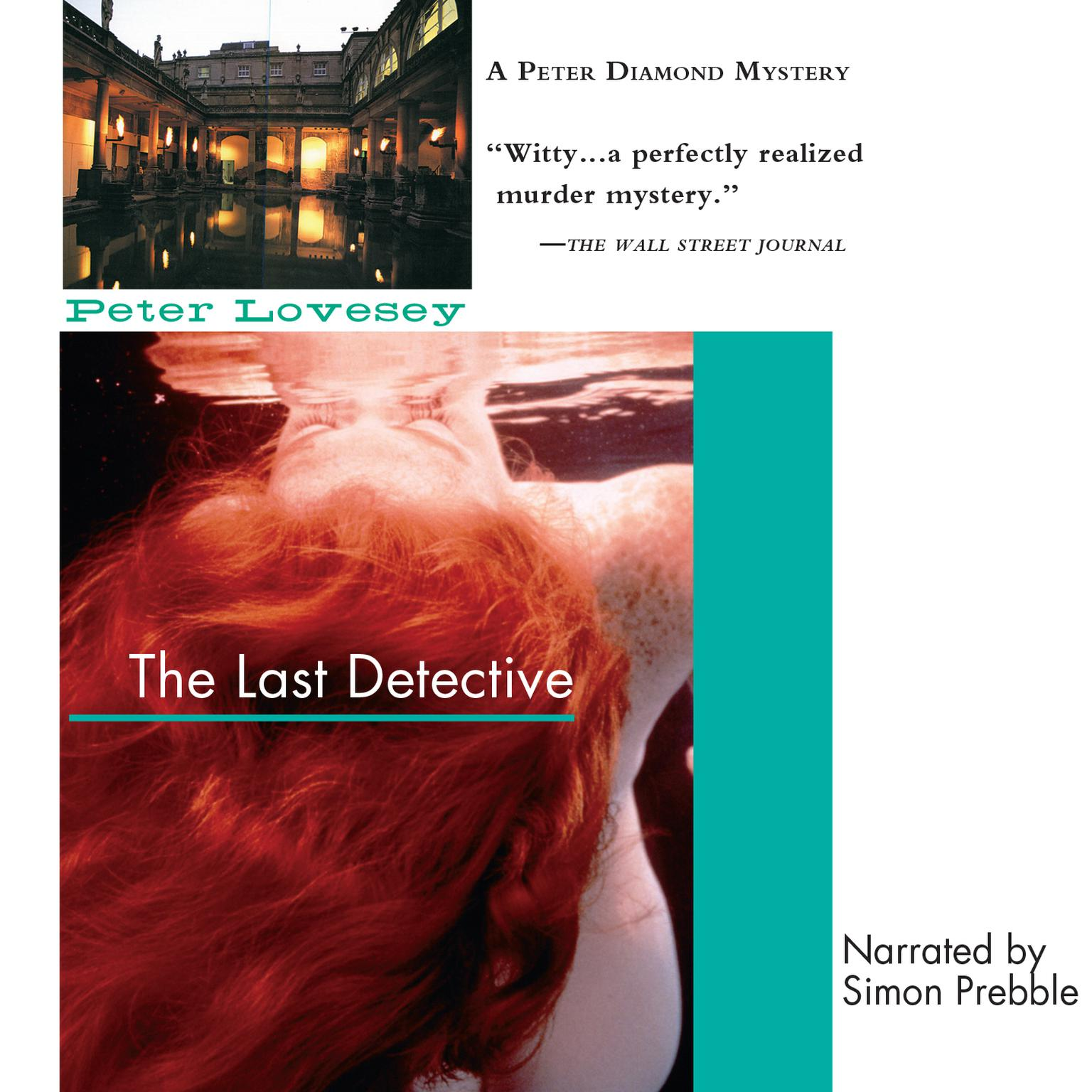 Printable The Last Detective Audiobook Cover Art