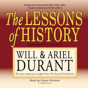 The Lessons of History Audiobook, by Will Durant, Ariel Durant