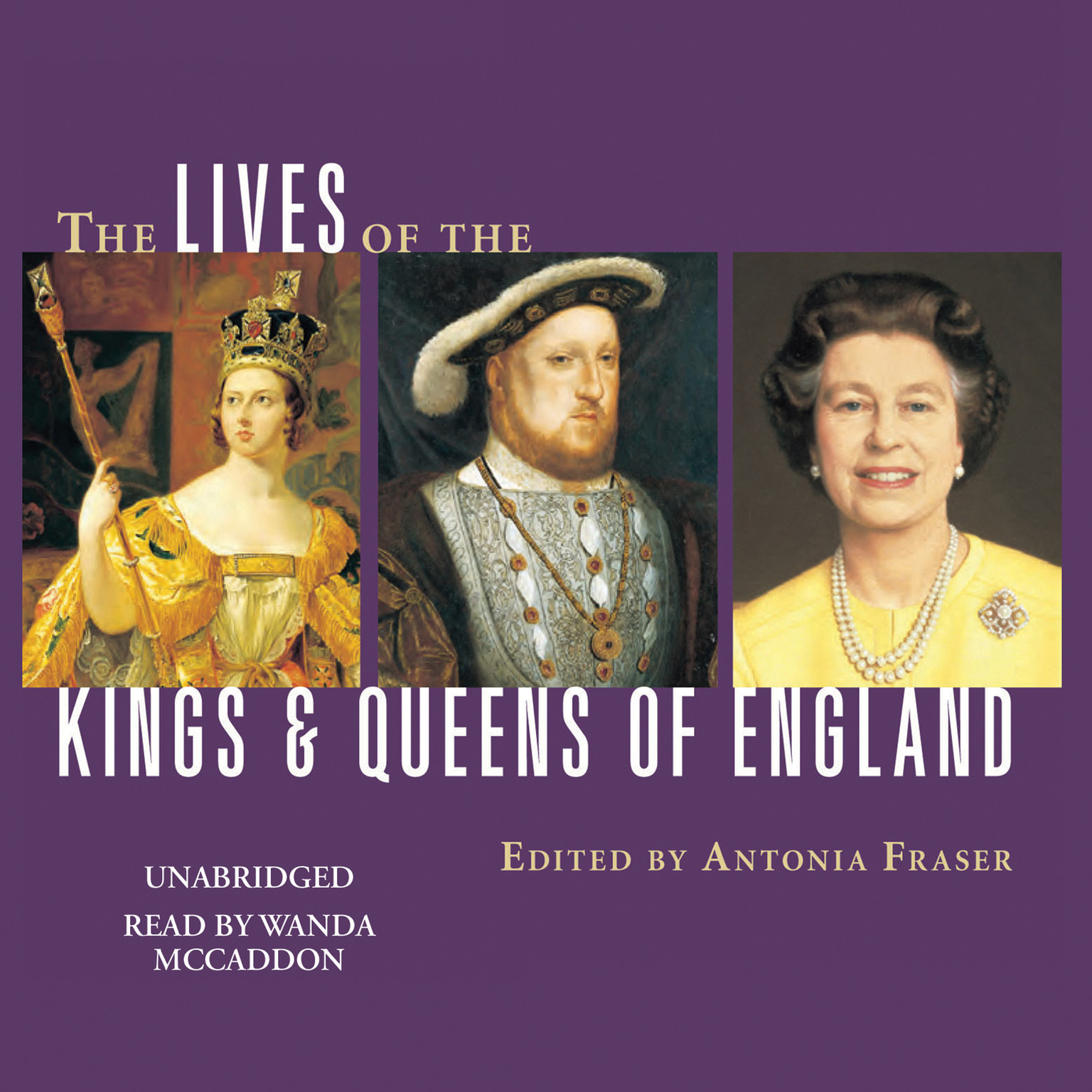 Printable The Lives of the Kings and Queens of England Audiobook Cover Art