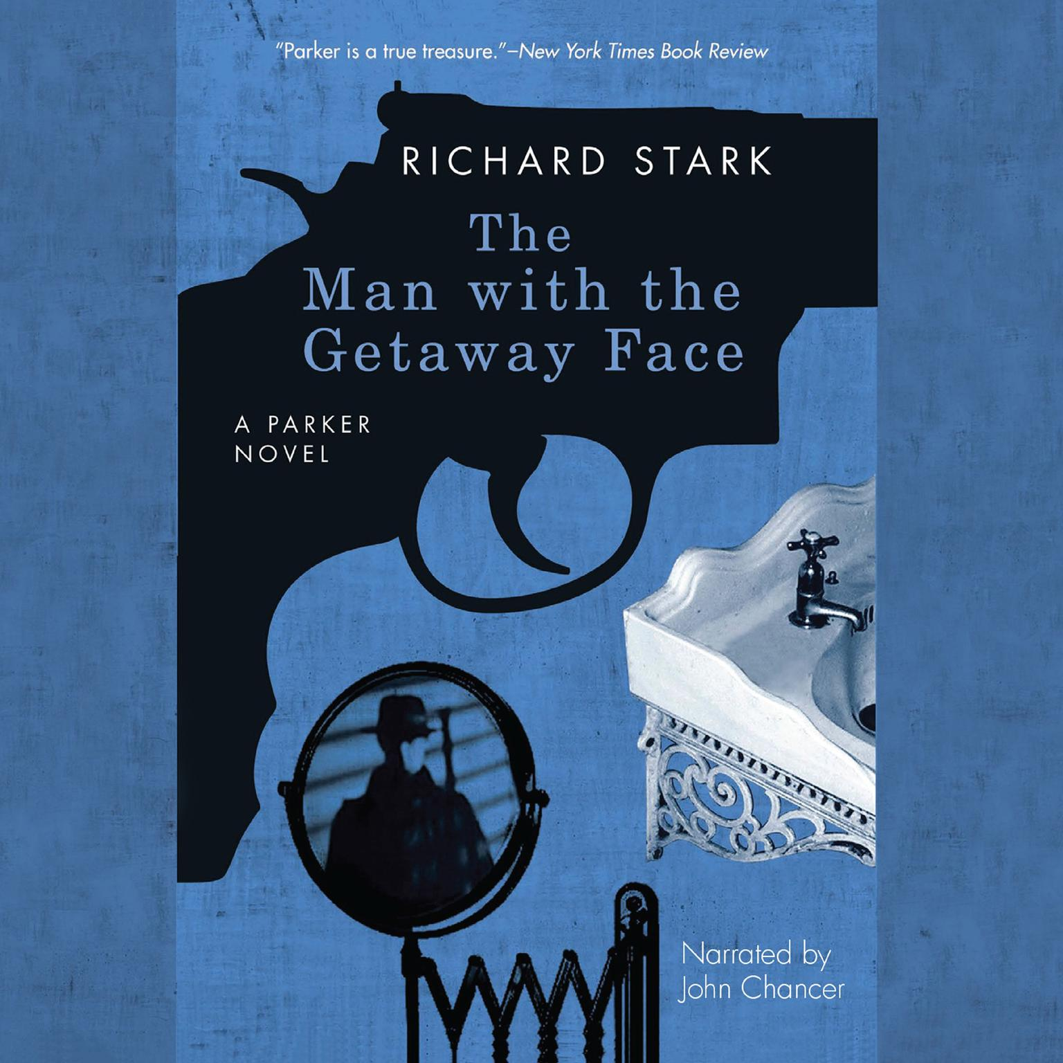 Printable The Man with the Getaway Face Audiobook Cover Art