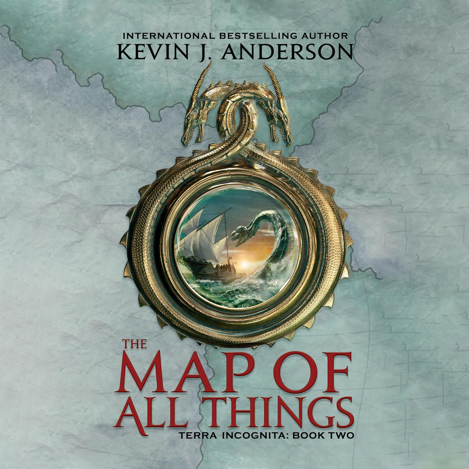 Printable The Map of All Things Audiobook Cover Art