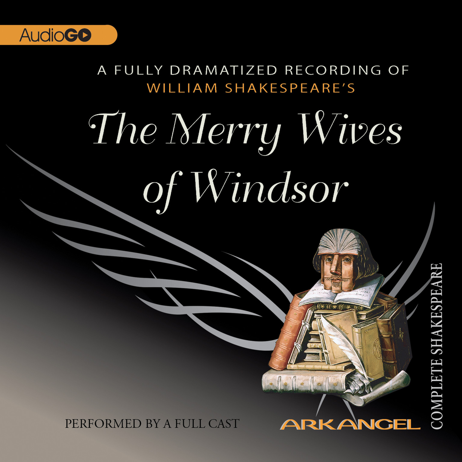 Printable The Merry Wives of Windsor Audiobook Cover Art