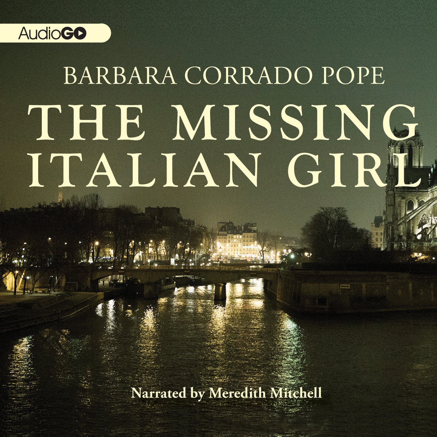 Printable The Missing Italian Girl Audiobook Cover Art