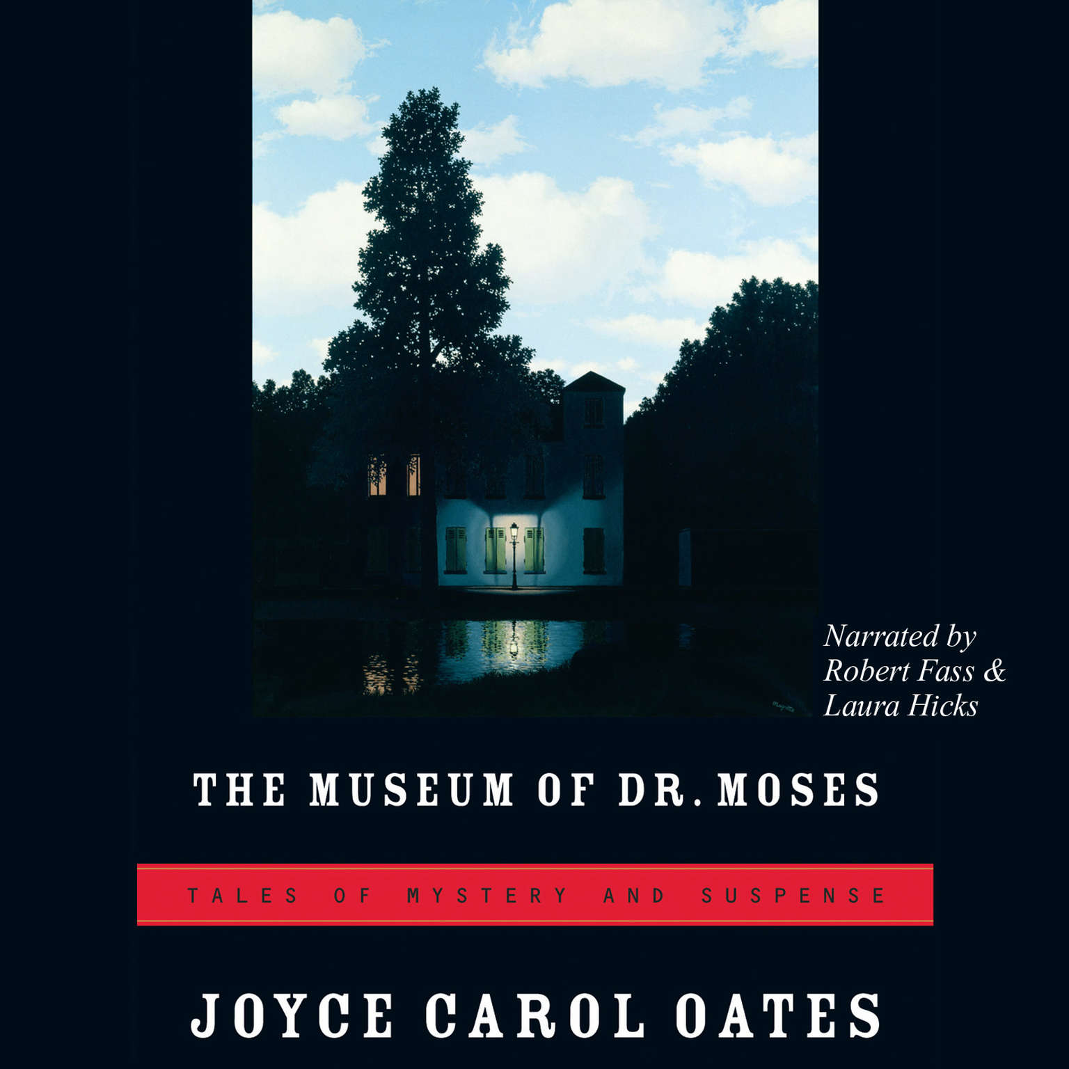Printable The Museum of Dr. Moses: Tales of Mystery and Suspense Audiobook Cover Art