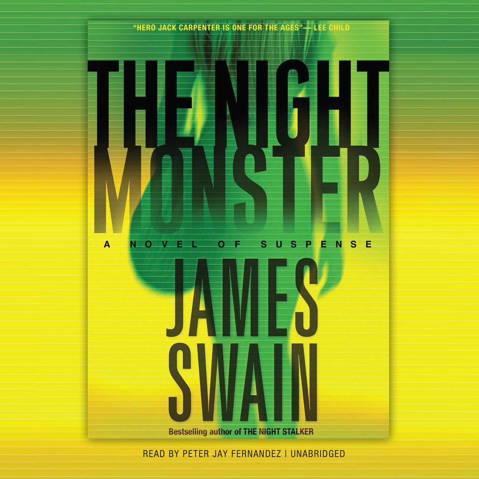 Printable The Night Monster Audiobook Cover Art