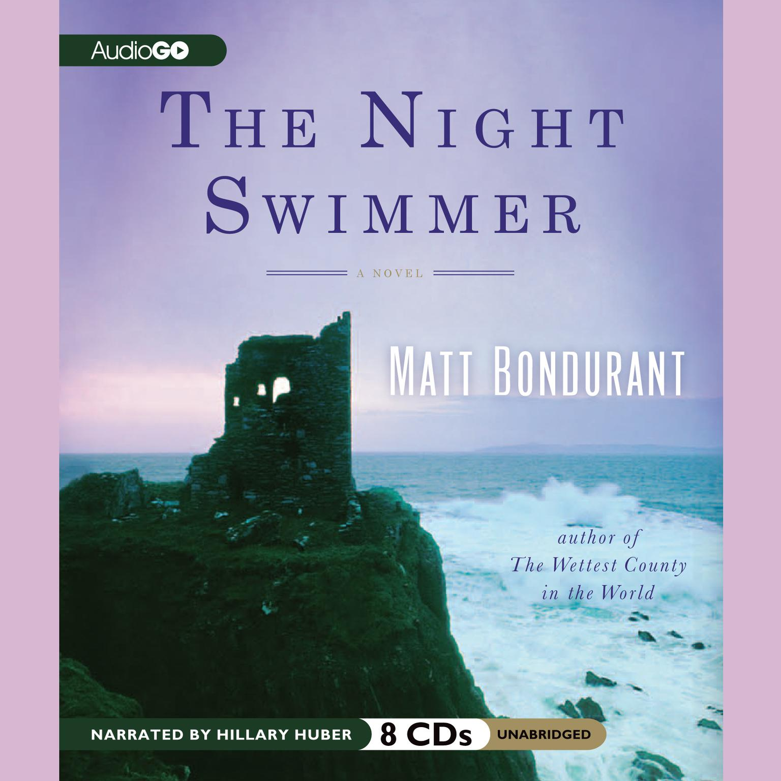 Printable The Night Swimmer Audiobook Cover Art