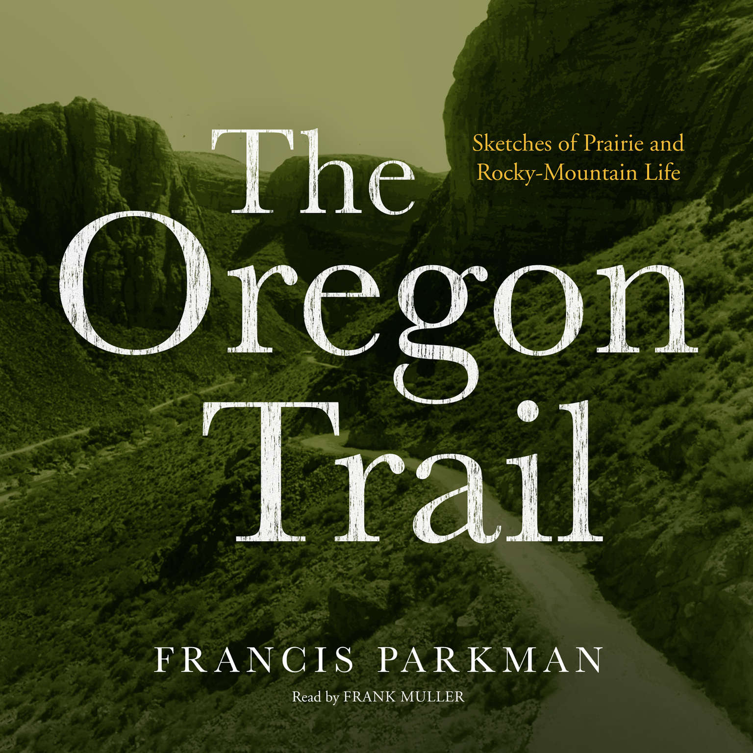 Printable The Oregon Trail: Sketches of Prairie and Rocky-Mountain Life Audiobook Cover Art