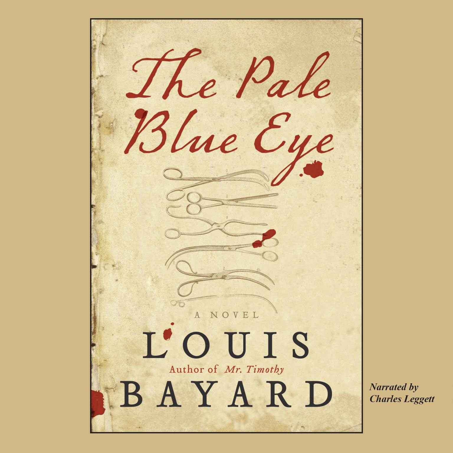 Printable The Pale Blue Eye Audiobook Cover Art