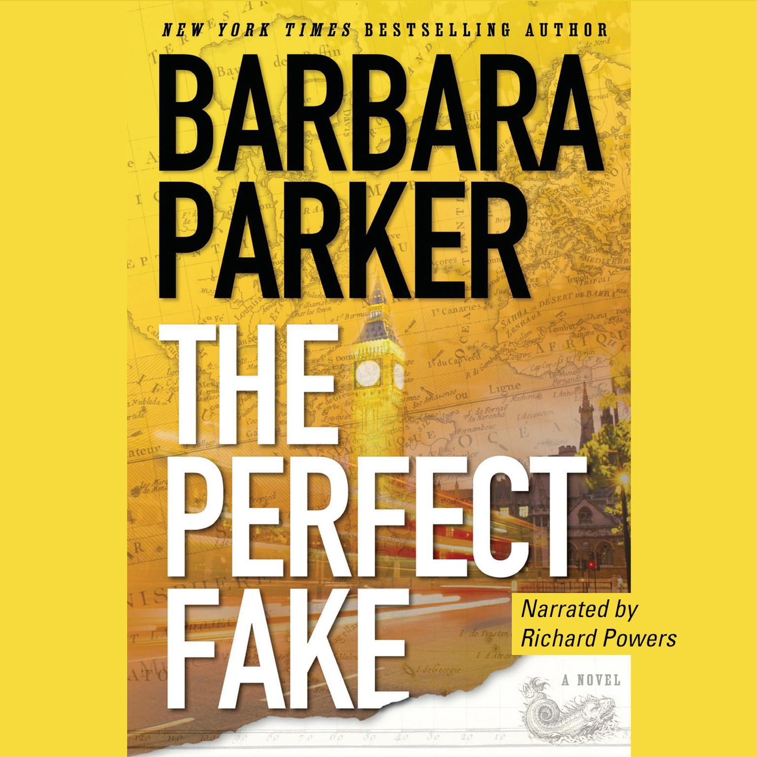 Printable The Perfect Fake: A Novel Audiobook Cover Art