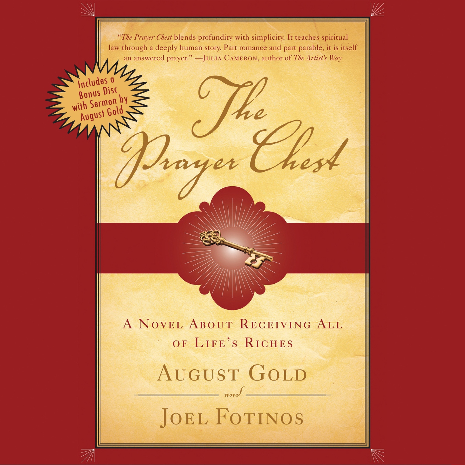 Printable The Prayer Chest: A Novel about Receiving All of Life's Riches Audiobook Cover Art