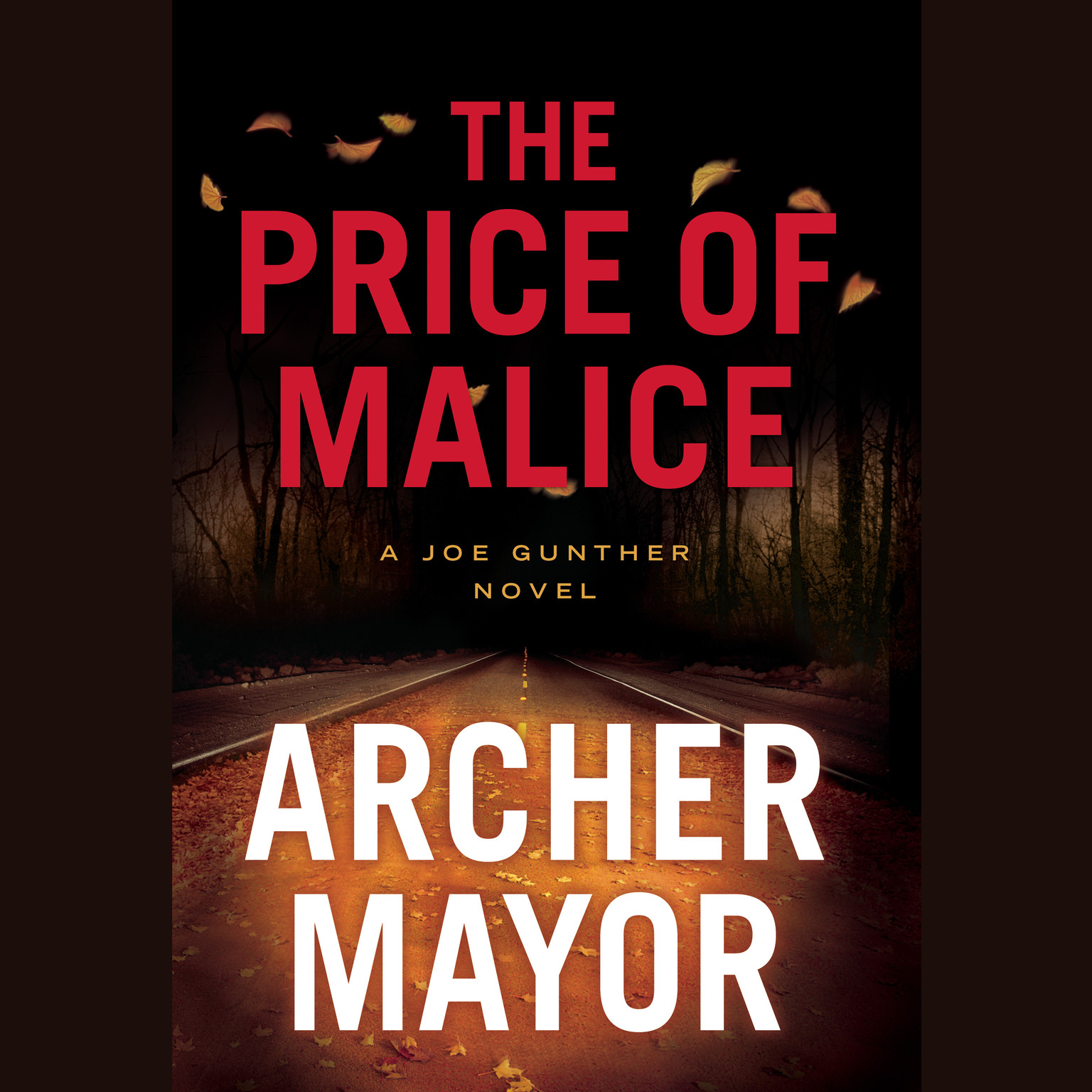 Printable The Price of Malice Audiobook Cover Art