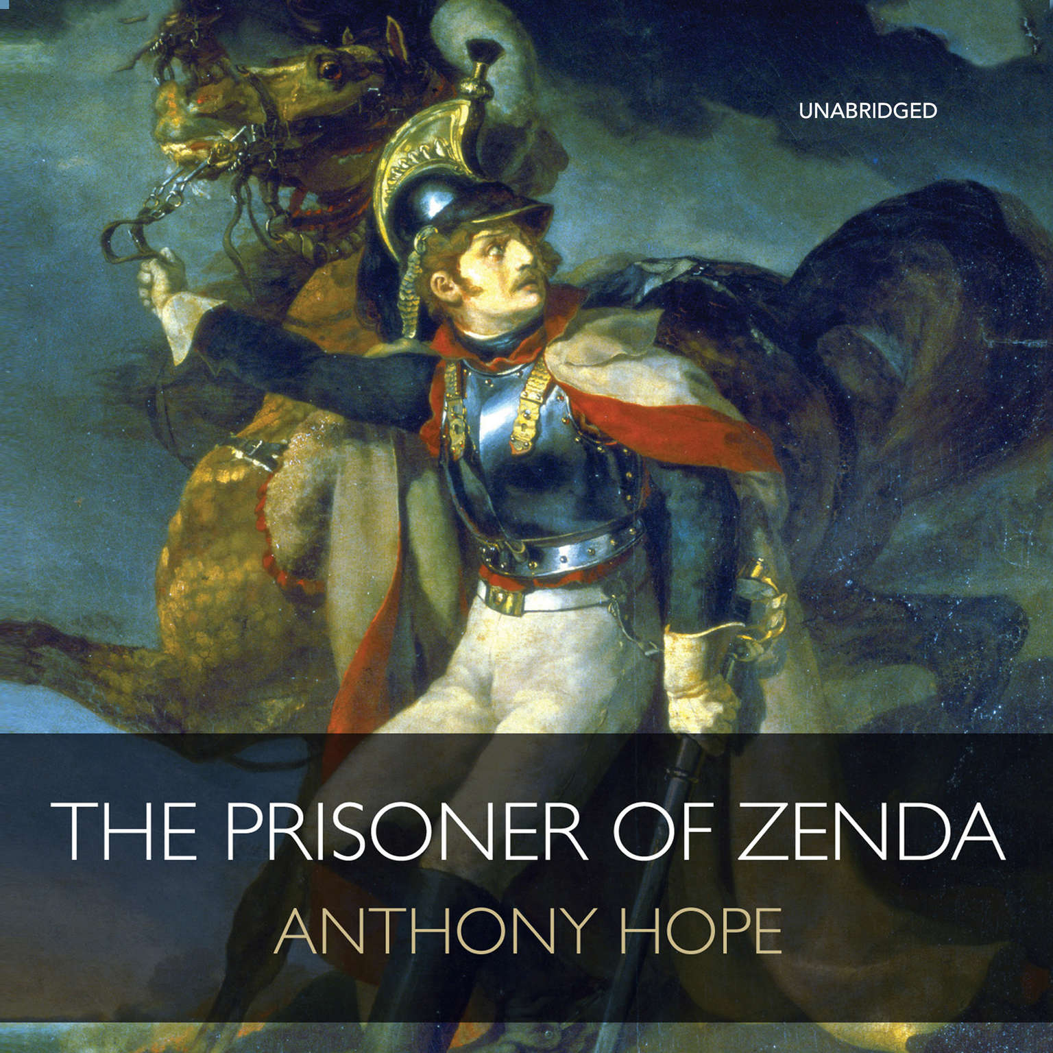 Printable The Prisoner of Zenda Audiobook Cover Art