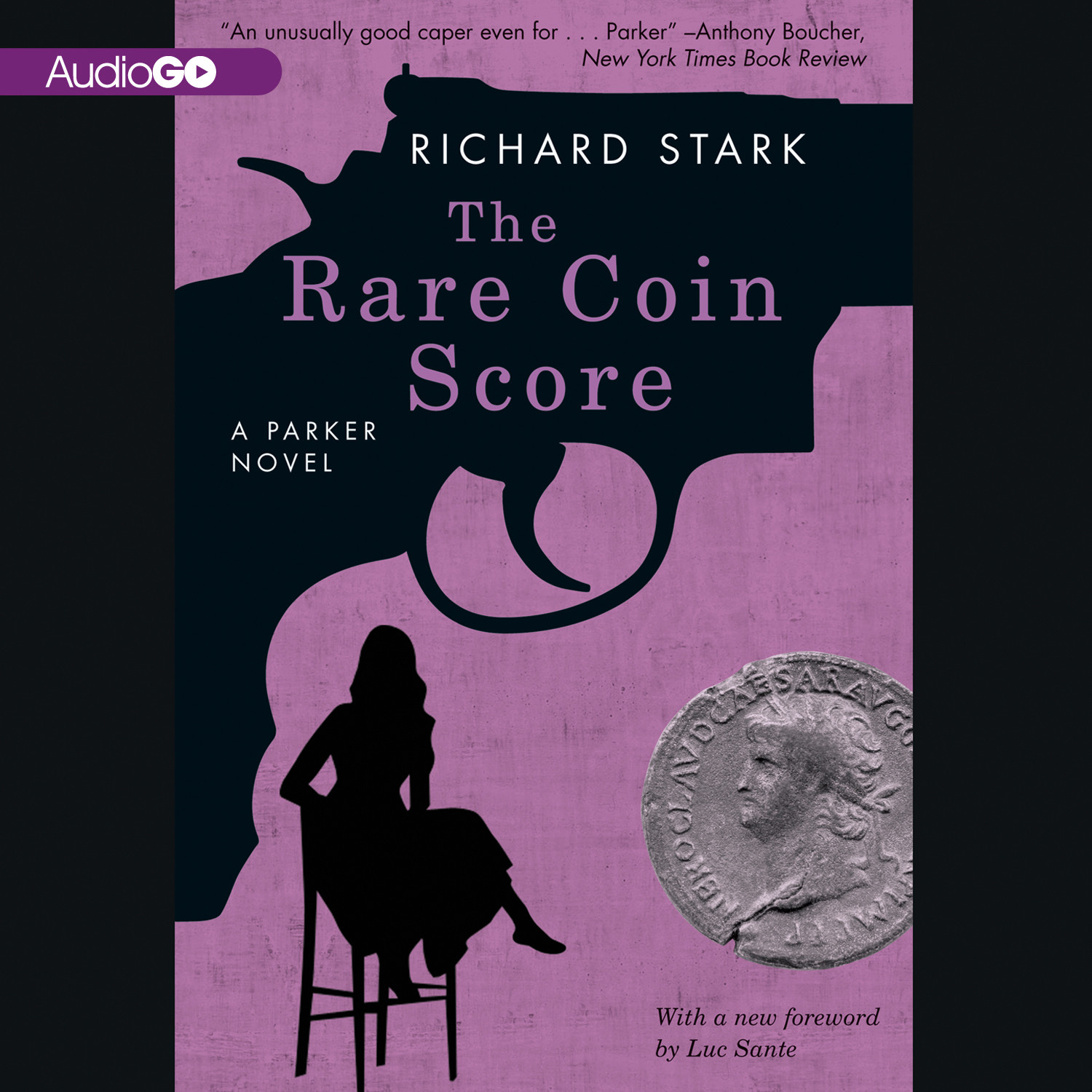 Printable The Rare Coin Score Audiobook Cover Art