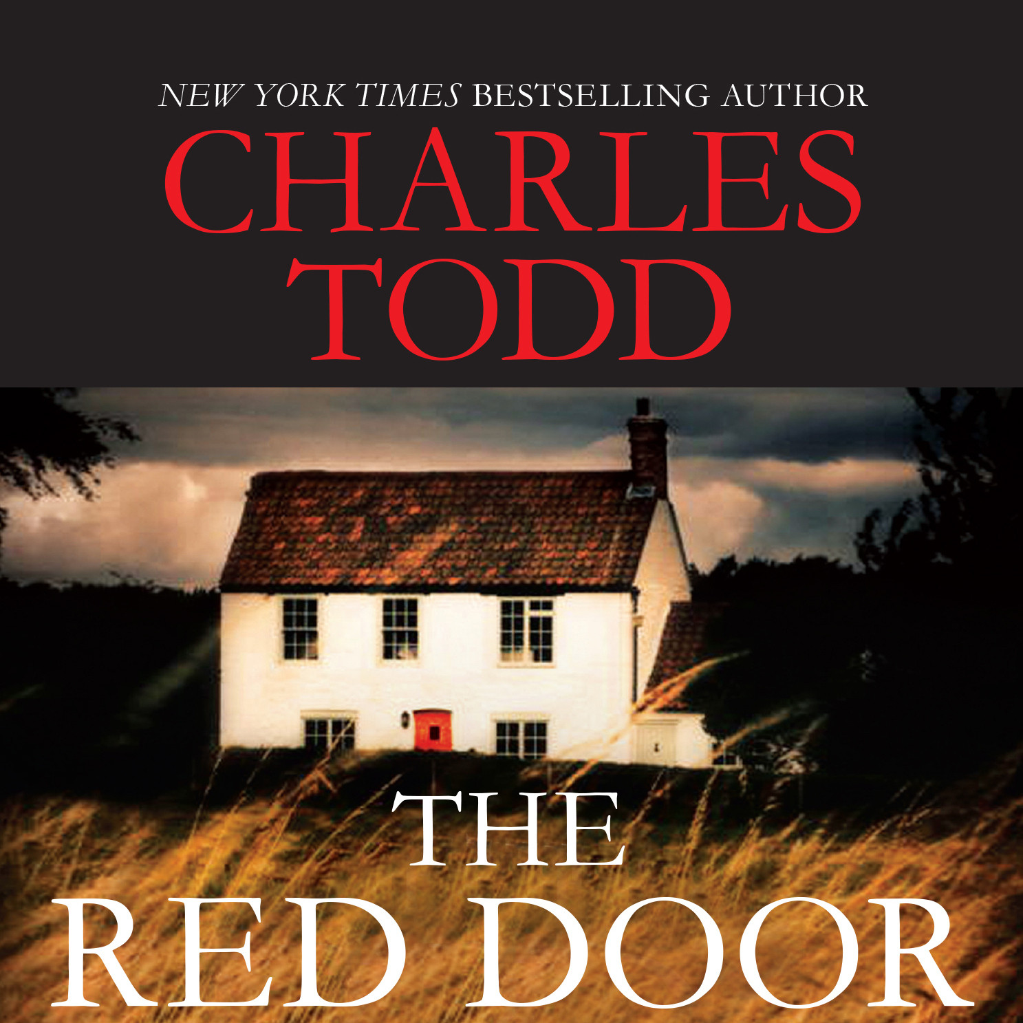 Printable The Red Door Audiobook Cover Art