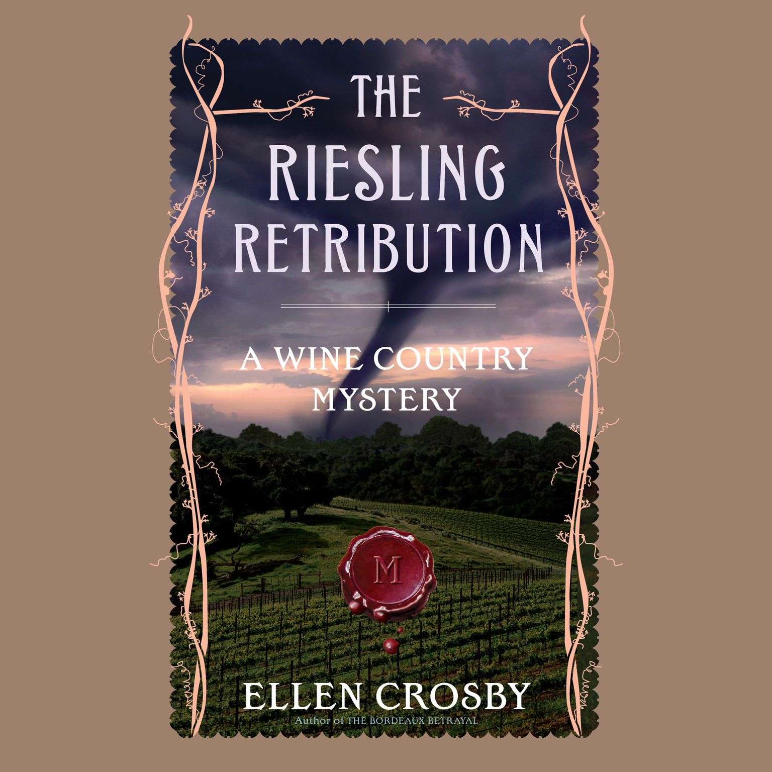 Printable The Riesling Retribution Audiobook Cover Art