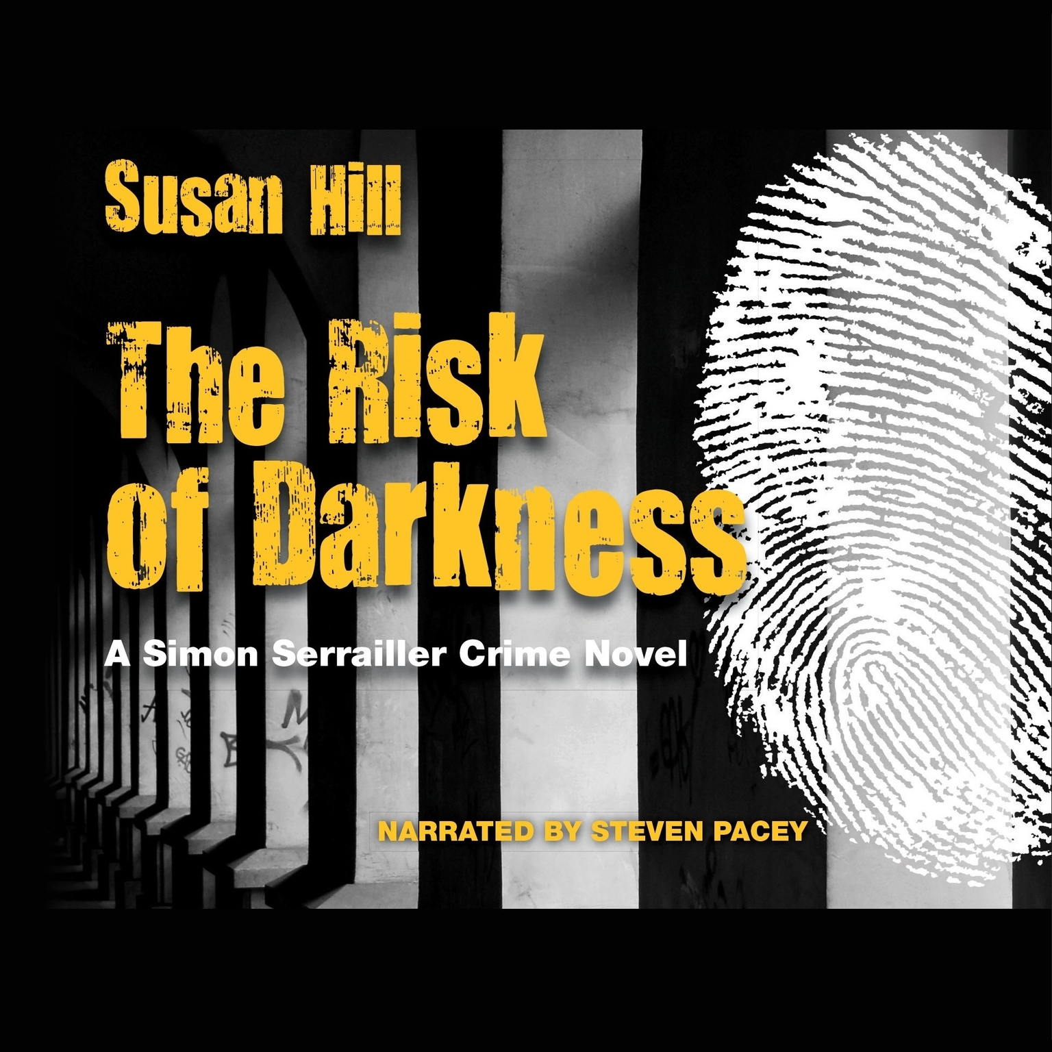 Printable The Risk of Darkness: A Simon Serrailler Crime Novel Audiobook Cover Art