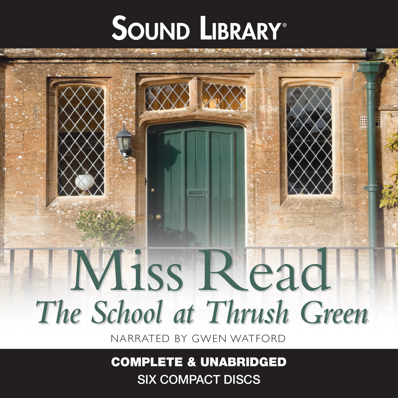 Printable The School at Thrush Green Audiobook Cover Art