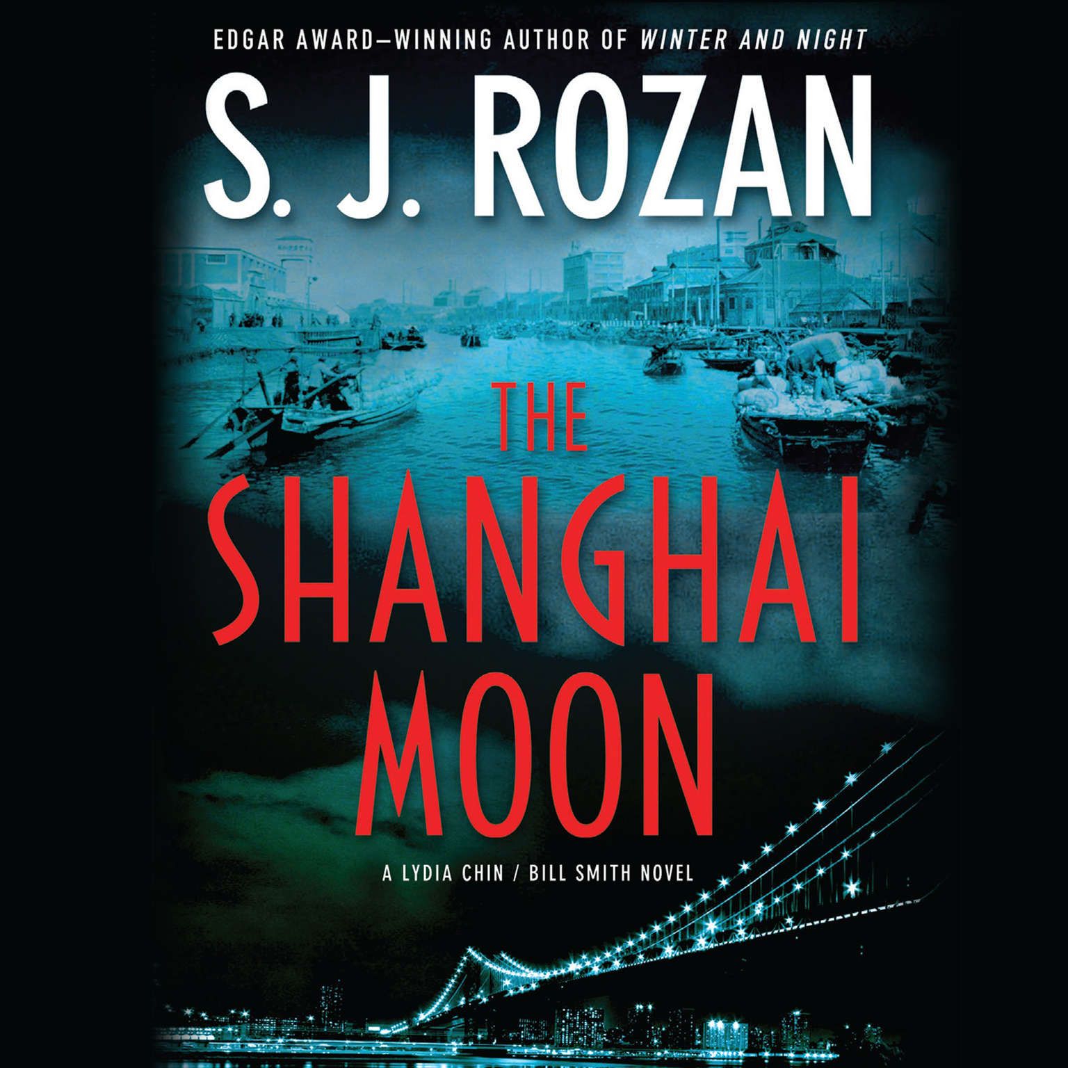 Printable The Shanghai Moon Audiobook Cover Art