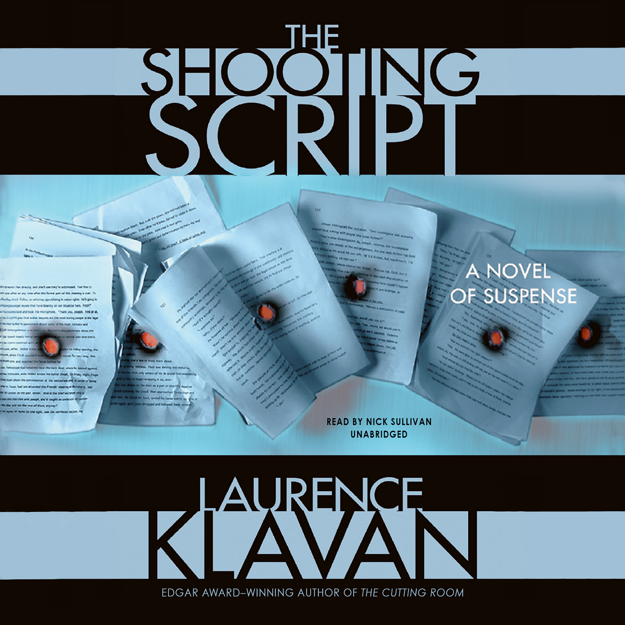 Printable The Shooting Script Audiobook Cover Art