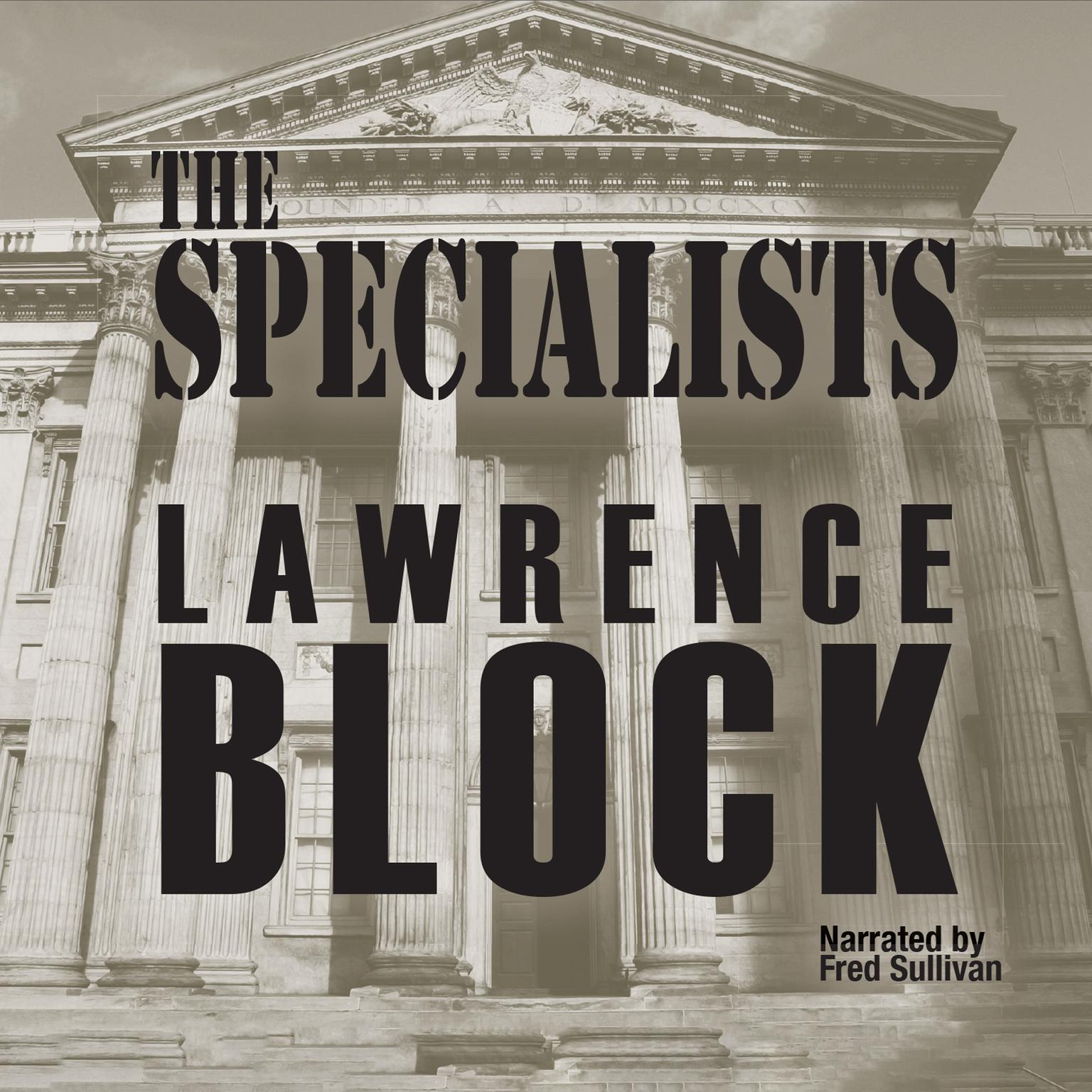 Printable The Specialists Audiobook Cover Art