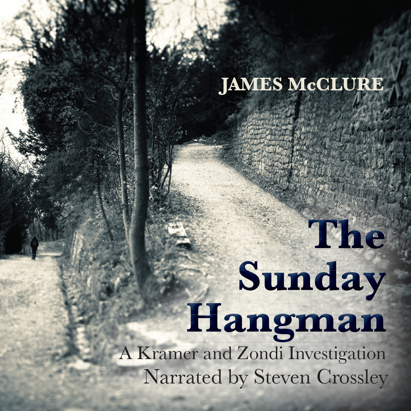 Printable The Sunday Hangman Audiobook Cover Art
