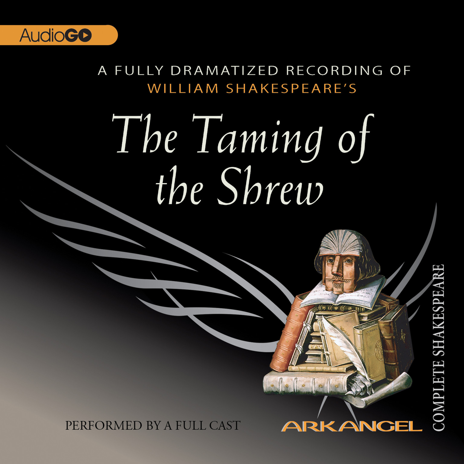 Printable The Taming of the Shrew Audiobook Cover Art
