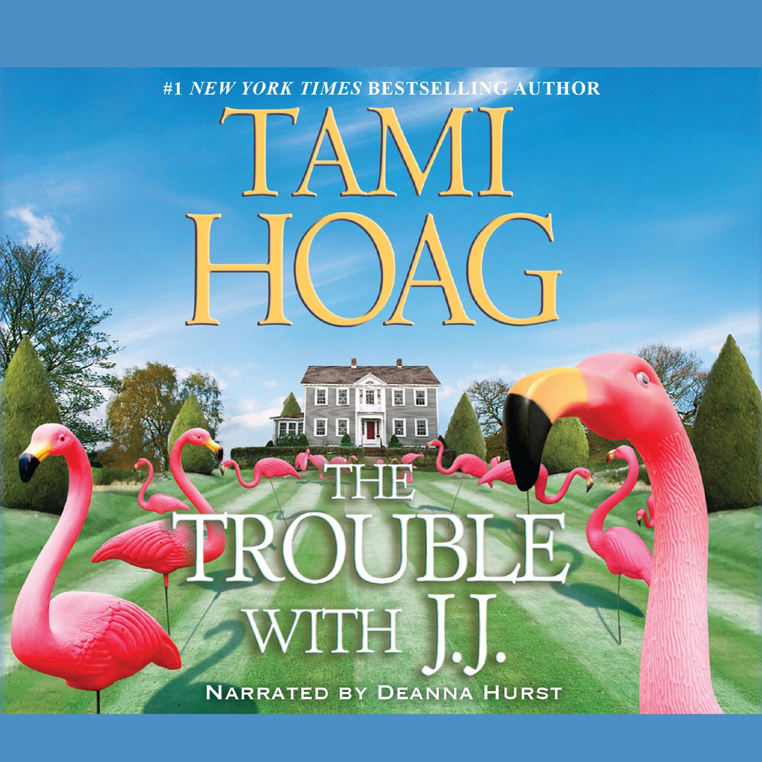 Printable The Trouble with J. J. Audiobook Cover Art