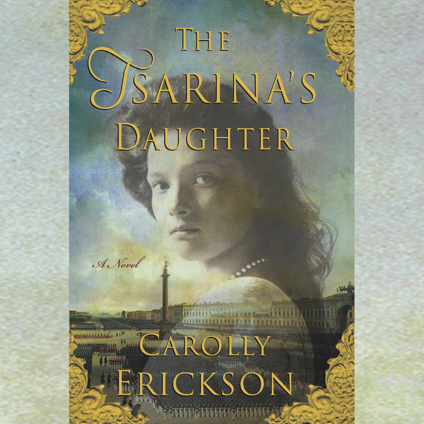 Printable The Tsarina's Daughter Audiobook Cover Art