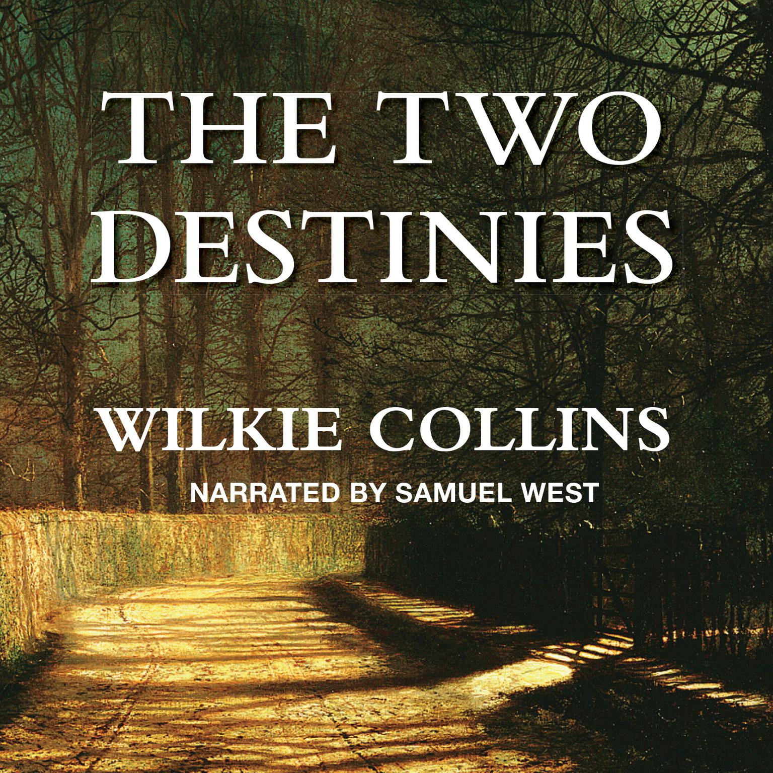 Printable The Two Destinies Audiobook Cover Art