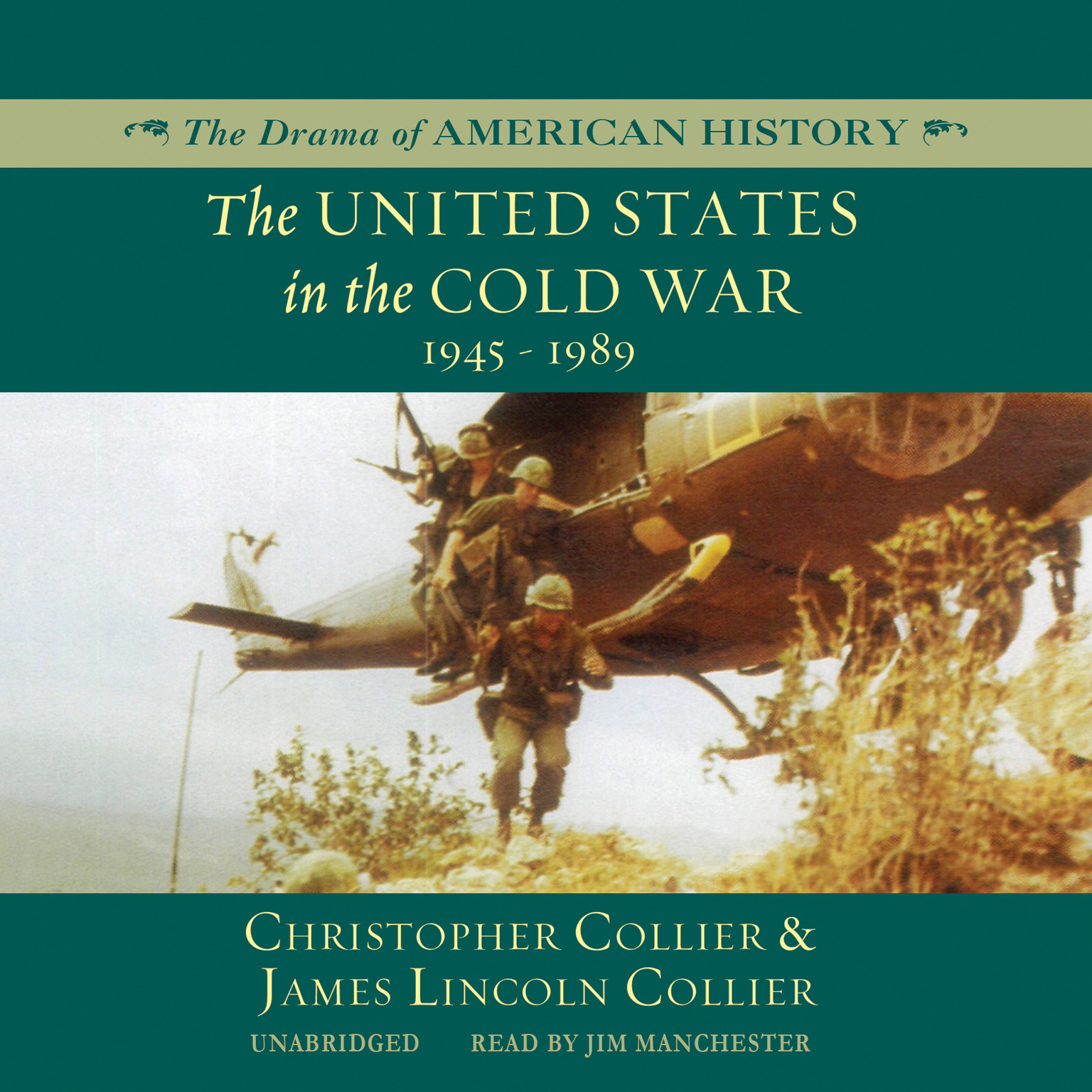 Printable The United States in the Cold War: 1945–1989 Audiobook Cover Art