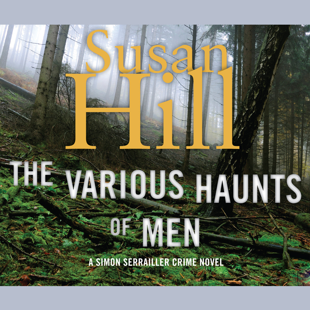 Printable The Various Haunts of Men Audiobook Cover Art