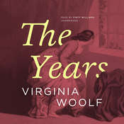 The Years Audiobook, by Virginia Woolf