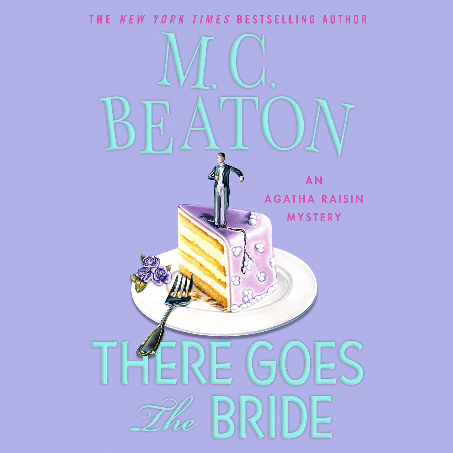Printable There Goes the Bride: An Agatha Raisin Mystery Audiobook Cover Art