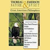 Thoreau & Emerson: Nature & Spirit Audiobook, by Henry David Thoreau