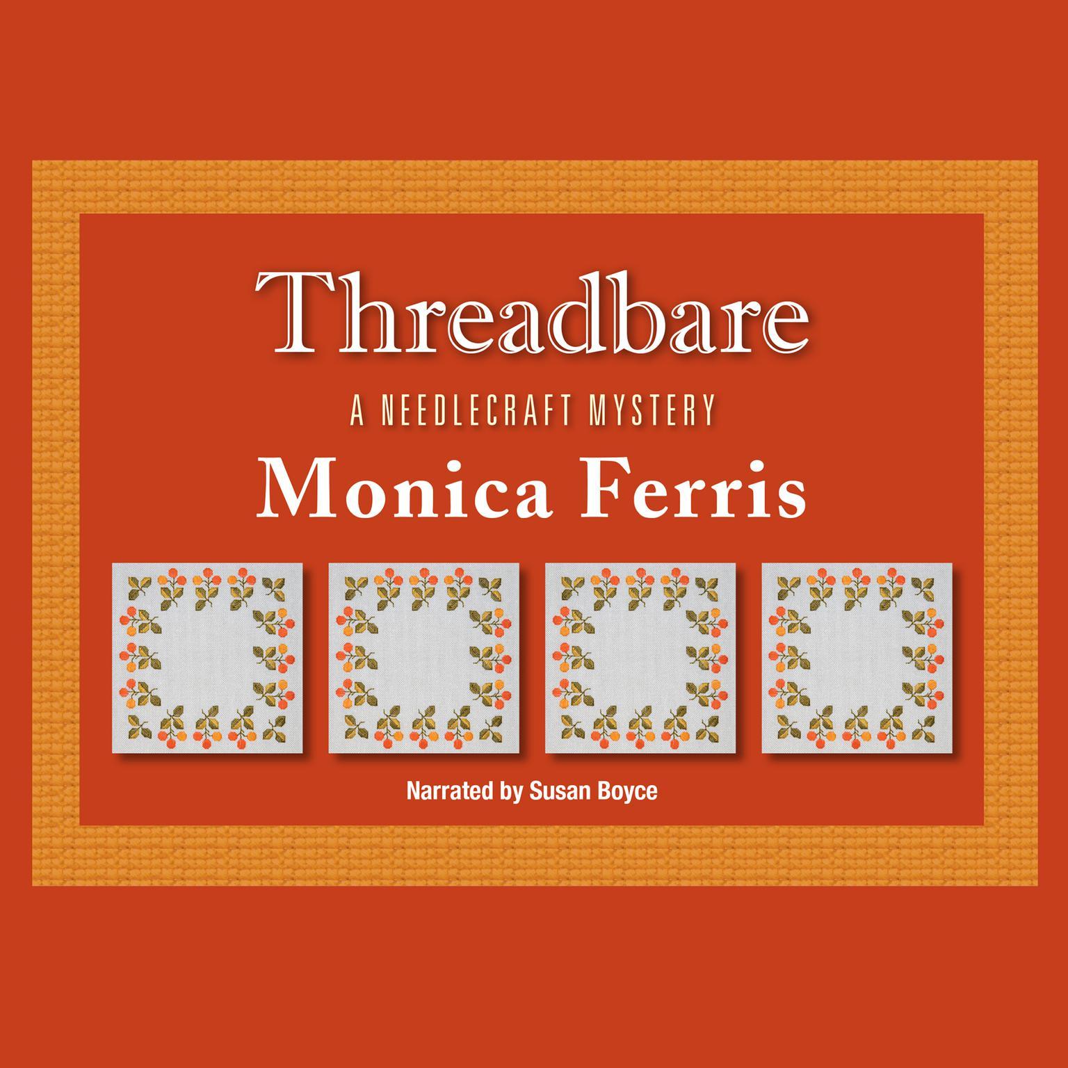 Printable Threadbare Audiobook Cover Art