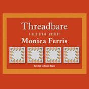 Threadbare Audiobook, by Monica Ferris