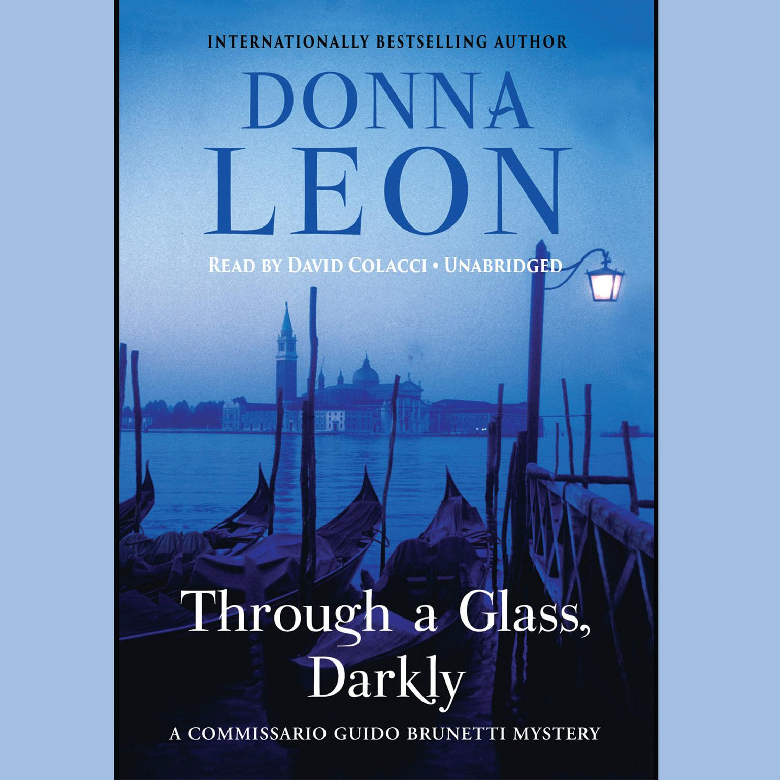 Printable Through a Glass, Darkly Audiobook Cover Art