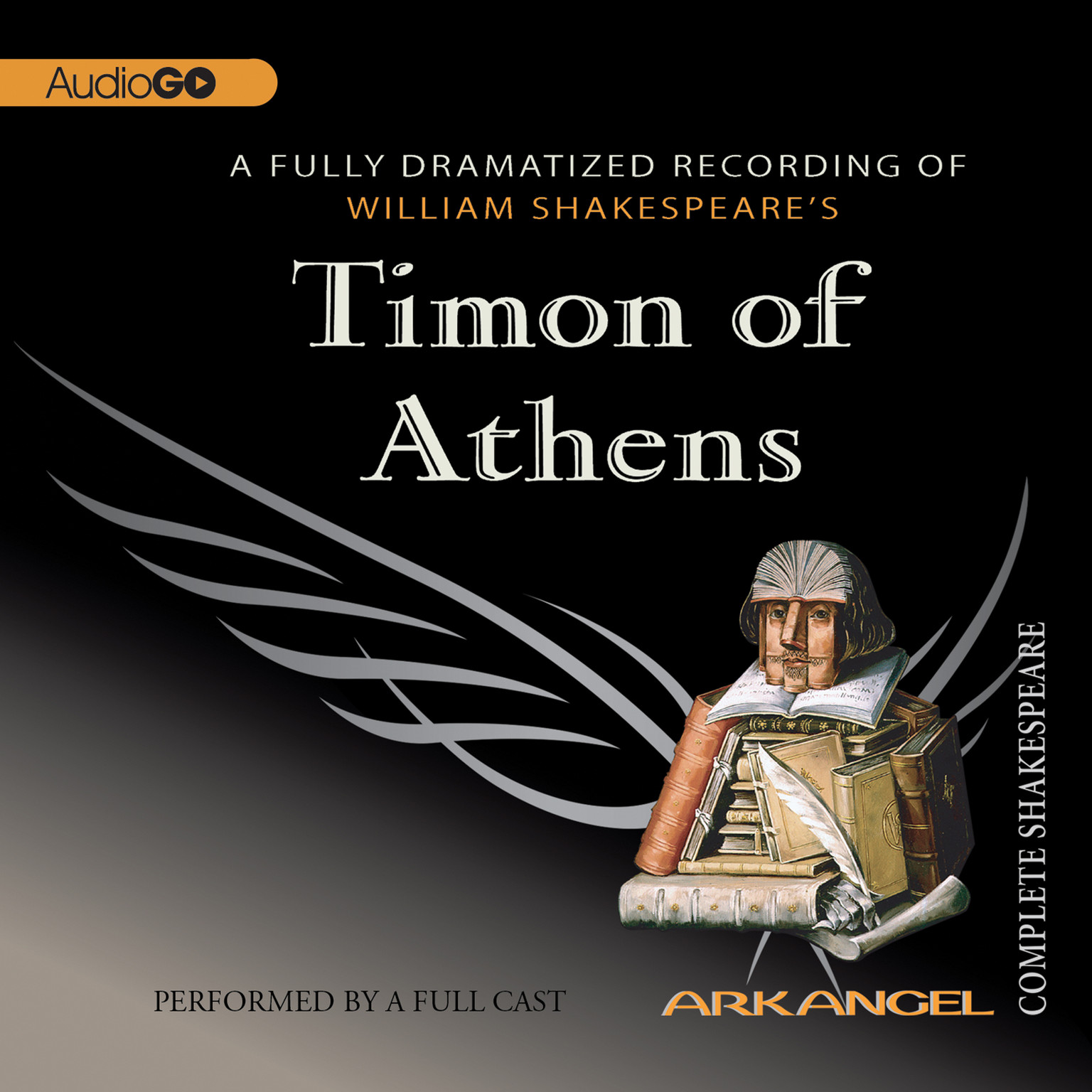 Printable Timon of Athens Audiobook Cover Art