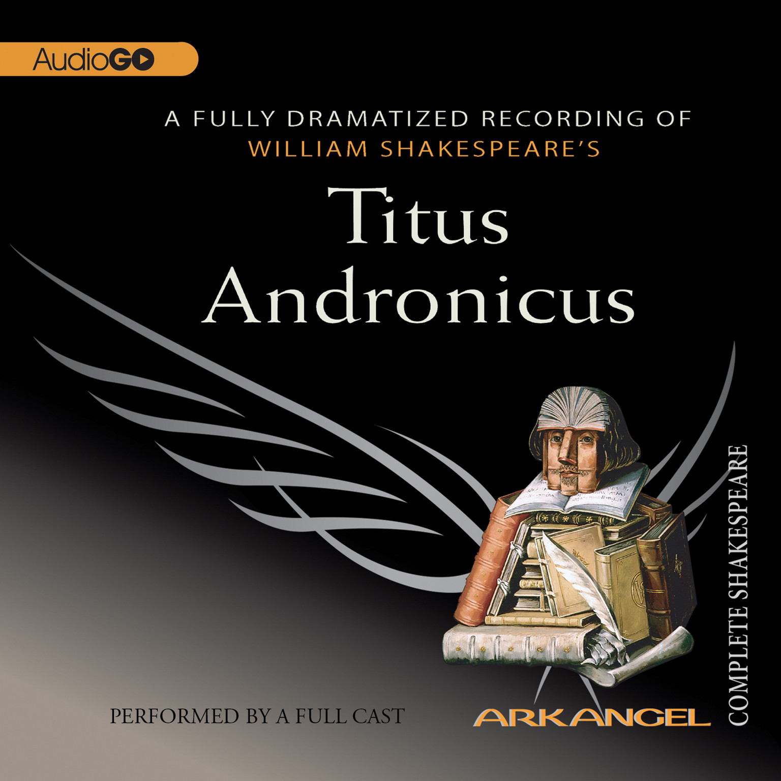 Printable Titus Andronicus Audiobook Cover Art