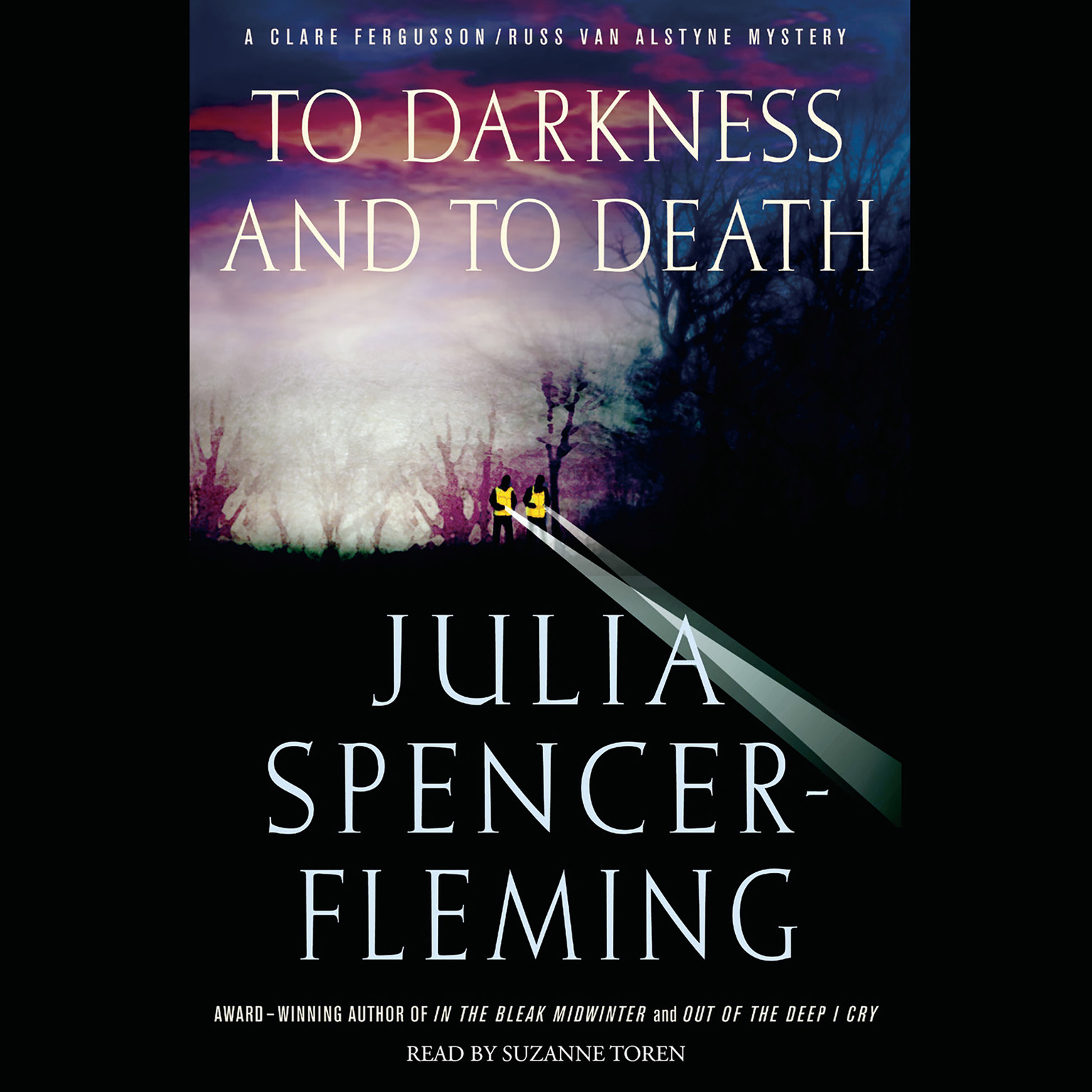 Printable To Darkness and to Death Audiobook Cover Art