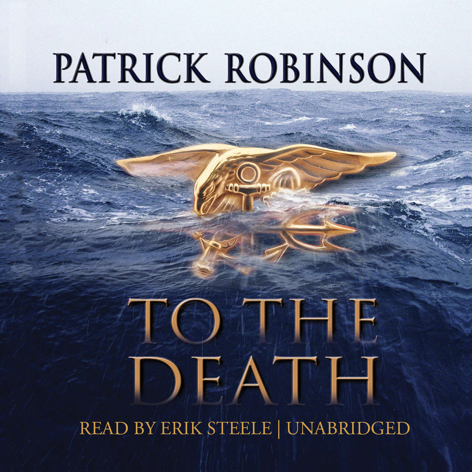 Printable To the Death Audiobook Cover Art