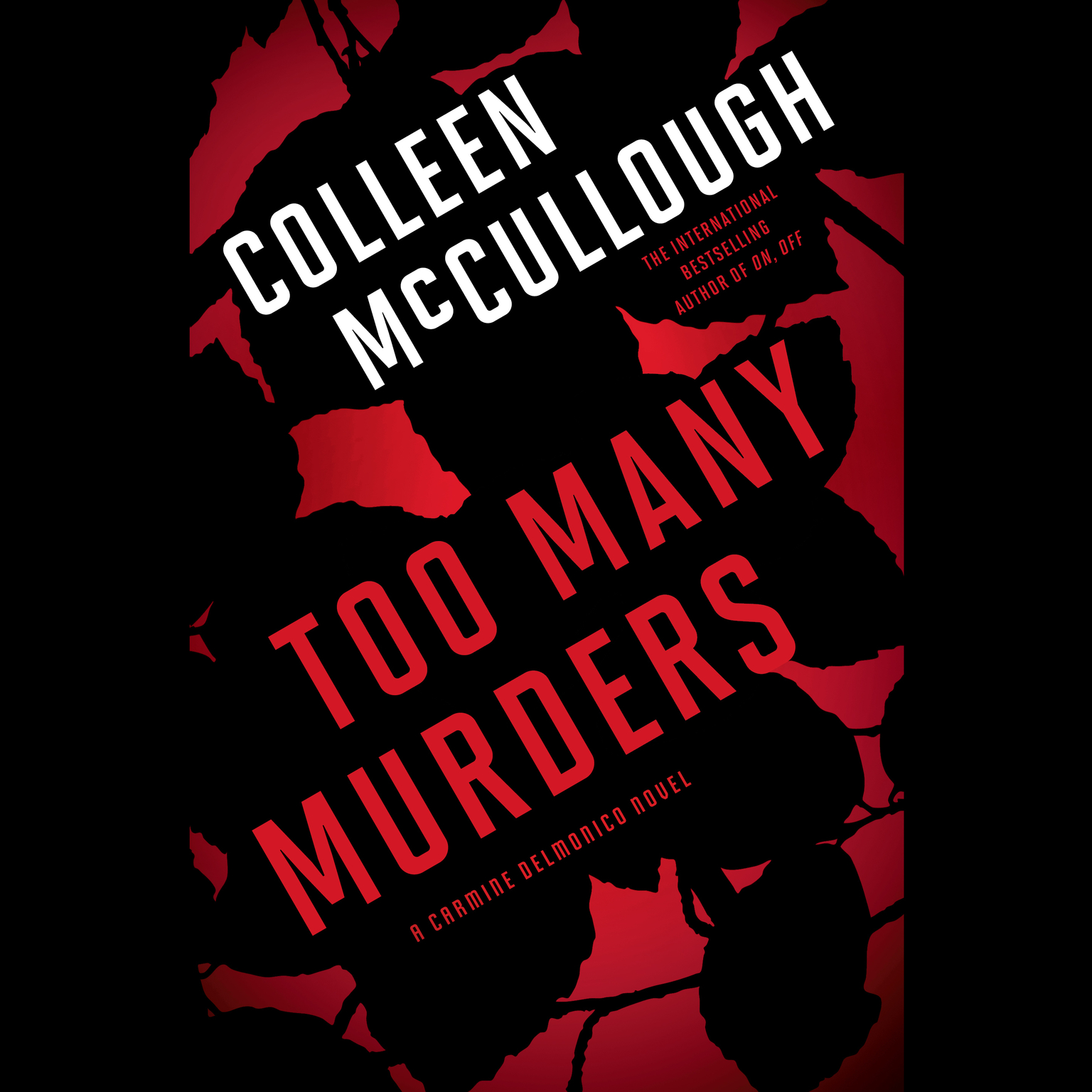 Printable Too Many Murders Audiobook Cover Art