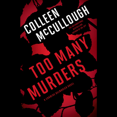 Too Many Murders Audiobook, by Colleen McCullough