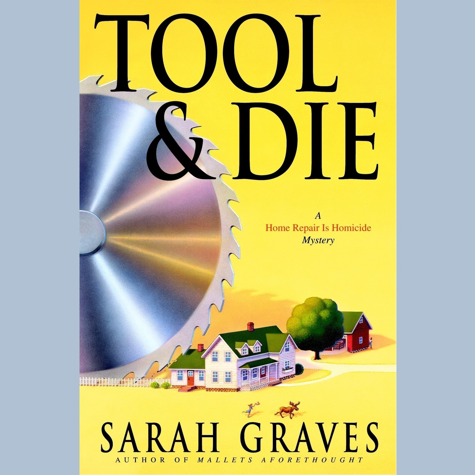 Printable Tool & Die Audiobook Cover Art