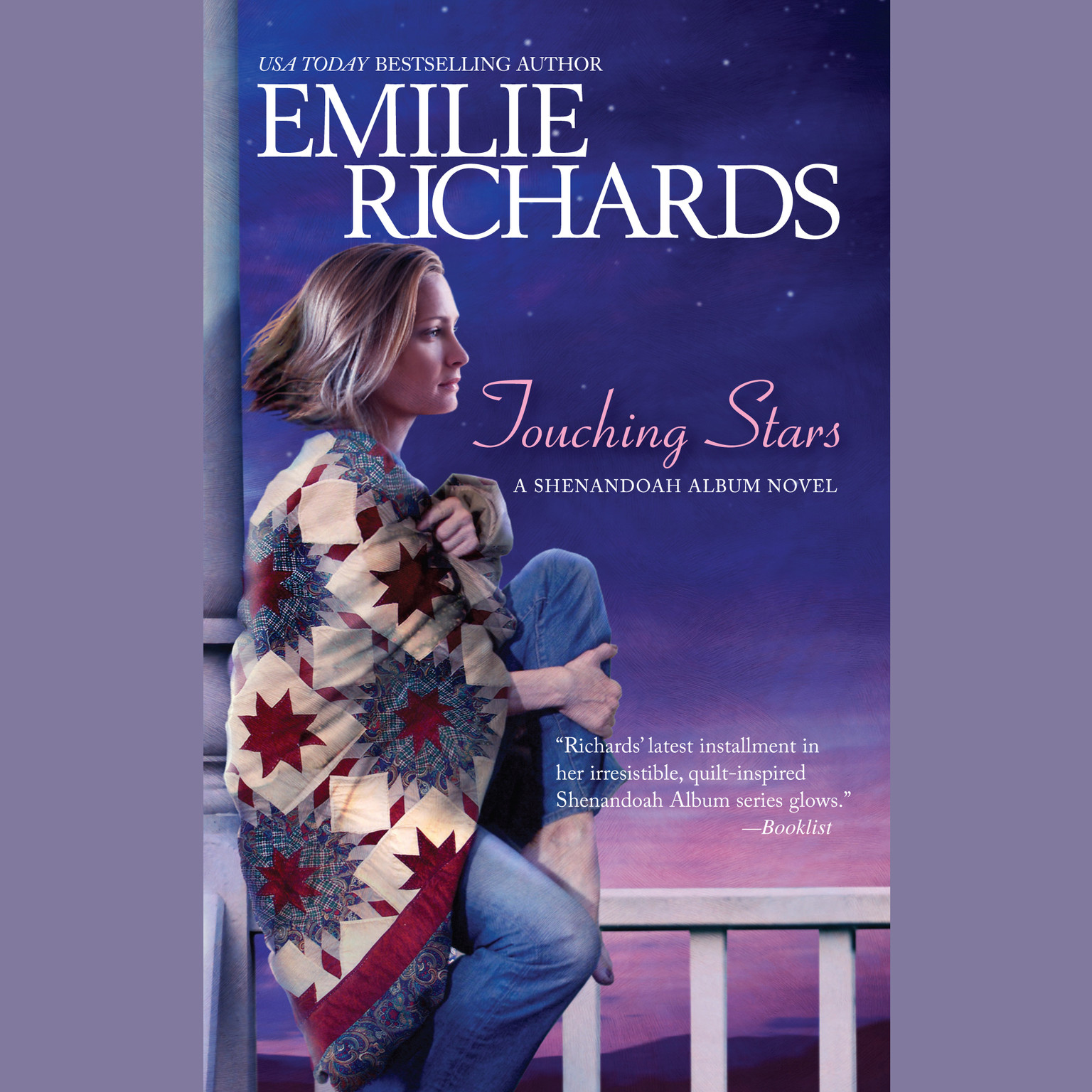 Printable Touching Stars Audiobook Cover Art