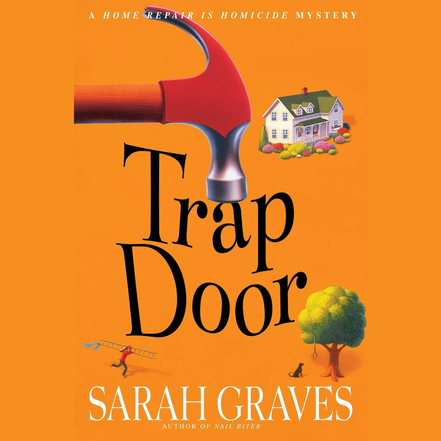 Printable Trap Door Audiobook Cover Art