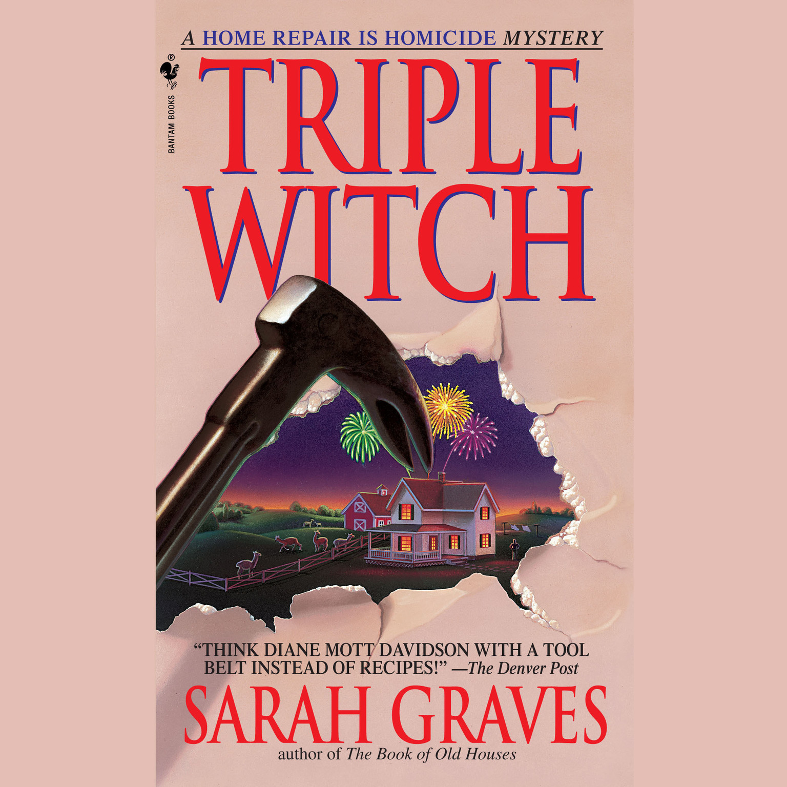 Printable Triple Witch Audiobook Cover Art
