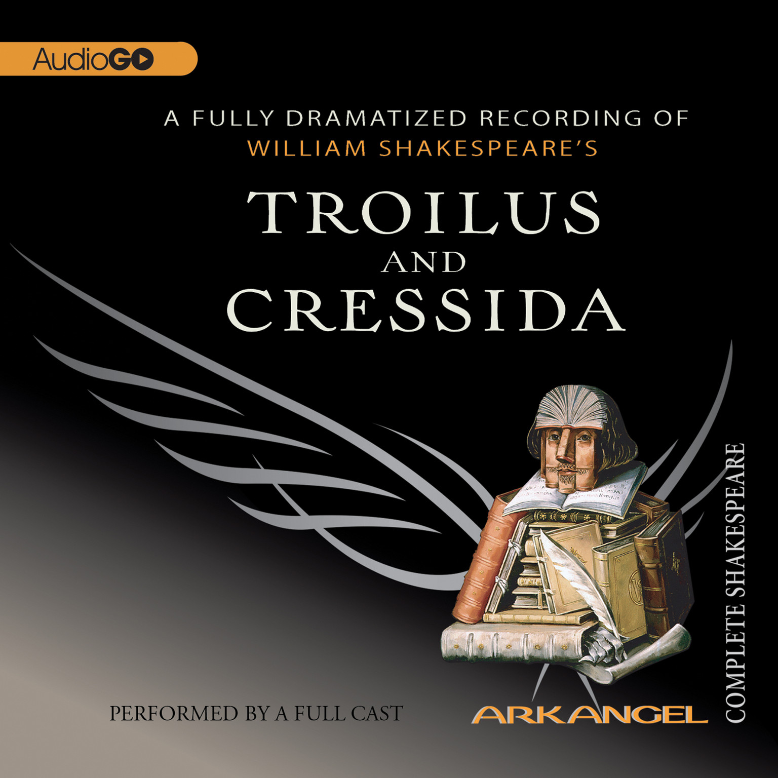 Printable Troilus and Cressida Audiobook Cover Art